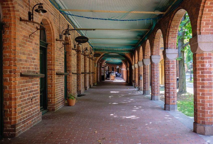 Bricks and arches in Oslo Oslo Norway🇳🇴 Architecture FujifilmX70