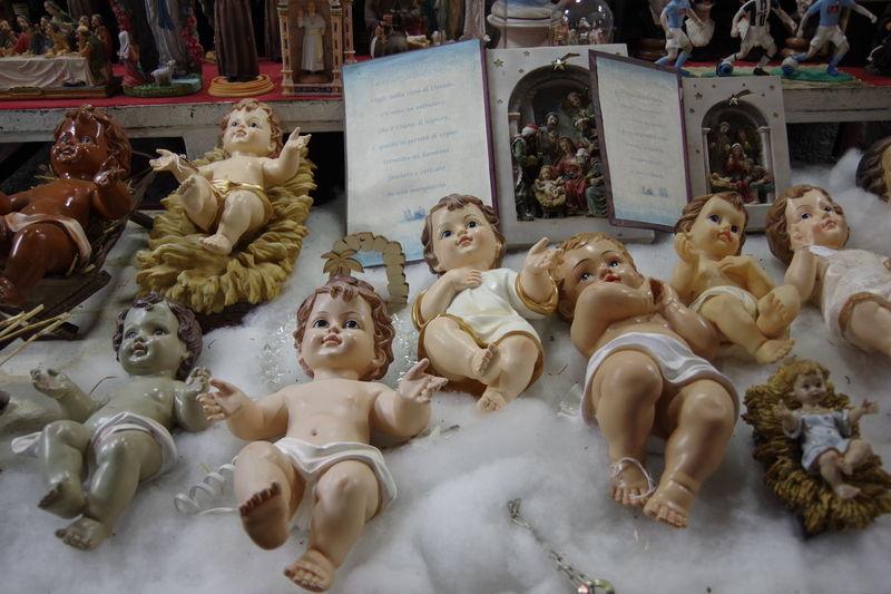 BabyJesus Christmas Christmas Market Holy Family Jesus Jesus Christ Naples Naples, Italy Napoli Nativity Scene Nativity Scenes NativityScene Art And Craft Christmas Decorations Creche Creche De Noel Nativity Figurine San Gregorio Armeno