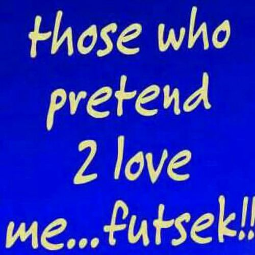 Fake People Love Pretend Futsek