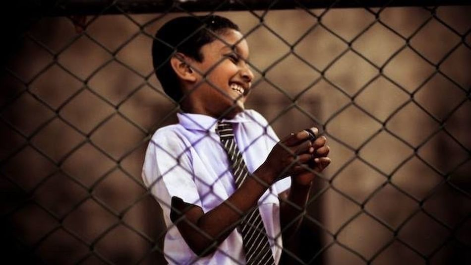 Traveling In Sri Lanka Happy Kids Laughing Smile