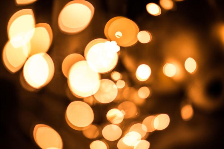 gold bokeh abstract Gold Backgrounds Bokeh Celebration Circle Close-up Decoration Defocused Design Electric Light Geometric Shape Glowing Illuminated Lens Flare Light Light - Natural Phenomenon Lighting Equipment Night No People Orange Color Pattern Shape