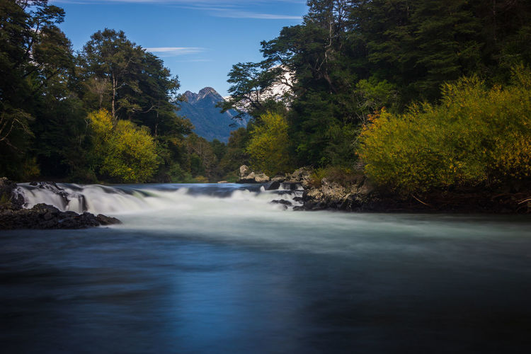Trancura river... Aroundtheworld Beauty In Nature Day Flowing Flowing Water Forest Growth Long Exposure Motion Nature No People Outdoors Plant Power In Nature River Scenics Scenics - Nature Sky Tourism Tranquility Travel Destinations Tree Water Waterfall Waterfront