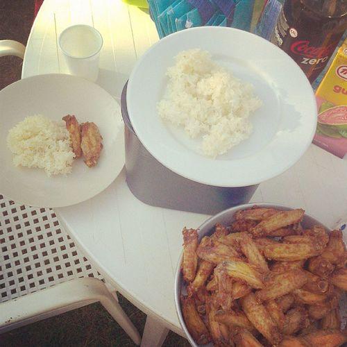 Hummmm wings et riz gluant Odtt