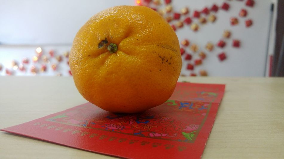Mandarin Orange and An Angpao Decoration Chinesenewyear ChineseNewYear2018 Chinese Goodluck Angpow Redpacket Goodluck Celebration