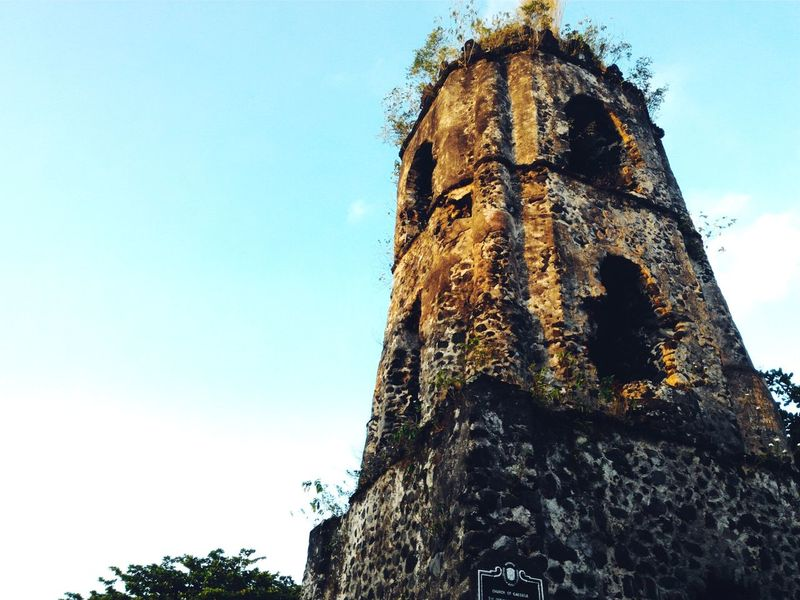 Sky Low Angle View Outdoors No People Nature Day Close-up Cagsawa Ruins Cagsawa CagsawaChurch EyeEmNewHere Eyeem Philippines Eyeem Market EyeEm Gallery The Architect - 2017 EyeEm Awards