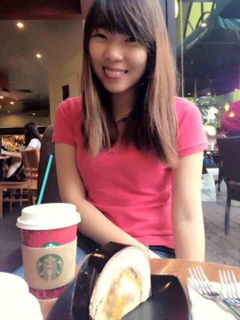 That's Me Today's Hot Look Coffee And Cigarettes Happiness smile(*¯︶¯*)
