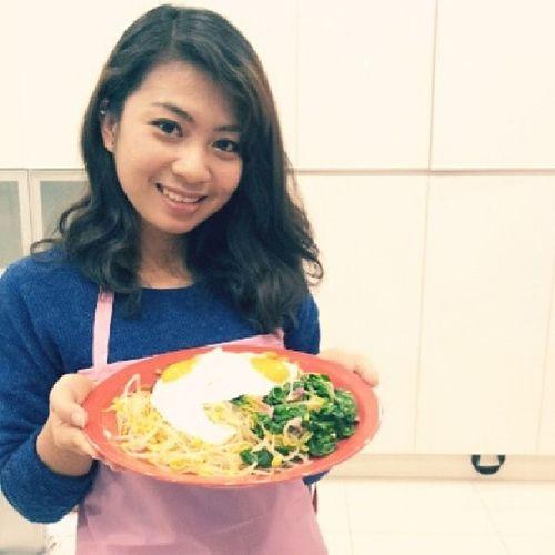 bibimbab ala chef riris hehe Bibimbab Koreanfood Handmade Cookingclass ori amway 분당 delicious korea Indonesia chef smile ♥