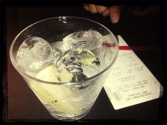 welcome to stockholm - gin tonic 12 Euros! :D