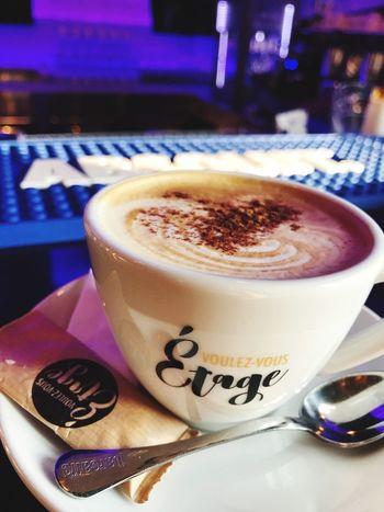 Coffee - Drink Refreshment Cappuccino Coffee Cup Voulezvous Barrestaurant Belgrade,Serbia Etagebar Art Is Everywhere