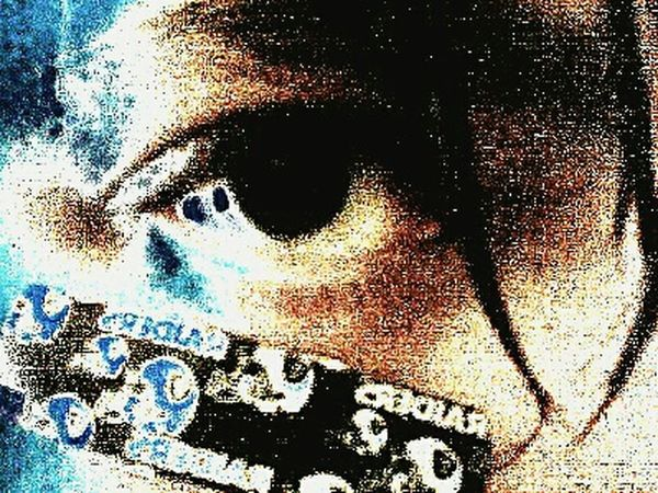 Eye My Eye Closeup Raider Style Sexyeye Sweat Sweating It Out RaiderNation Raider Bandage