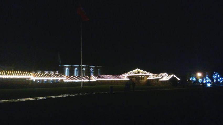 EyeEm Selects Christmas Illuminated Christmas Decoration No People Celebration Night Outdoors NewYear Kaunas Kaunas Castle Kaunas, Kaunas At Night