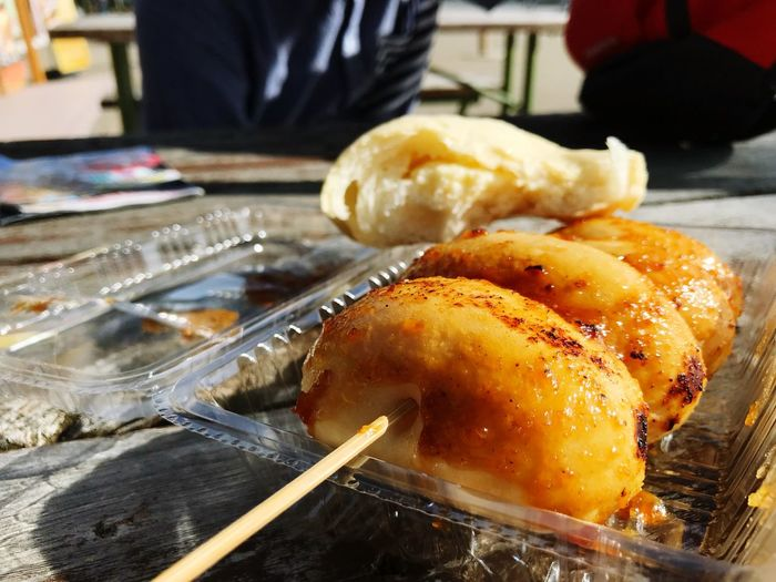 味噌饅頭^ ^😋赤城高原サービスエリア😊✋️ Breadlove Food Food And Drink Ready-to-eat Table Indoors  Close-up Freshness