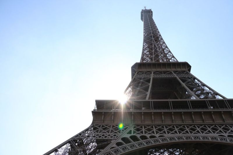 エッフェルエッフェル~* Architecture Steel TowerLC Canon Paris