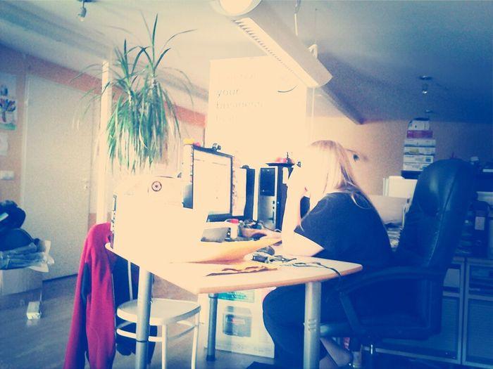 Working Hard