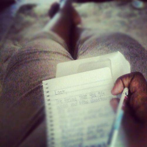 Just me... My brain.. Pen n Pad n Pandora Poetryflow Pandora Pen Pad peace now myview