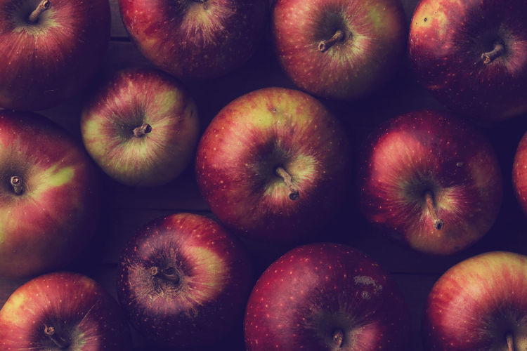 Detail Shot Of Apples