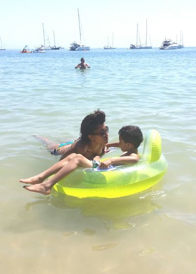RePicture Motherhood Me And Him ❤ and the Ocean Blue Sky Nature & Nuture Air Kisses My King Protecting Where We Play Feels Like Home.