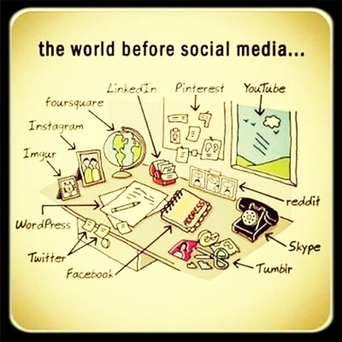 Before social media have..nice