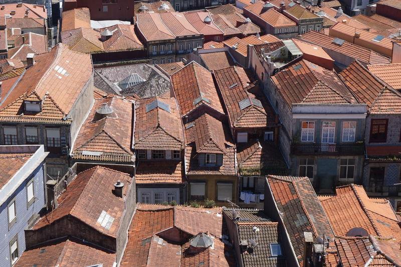 Full Frame Shot Of Houses In City