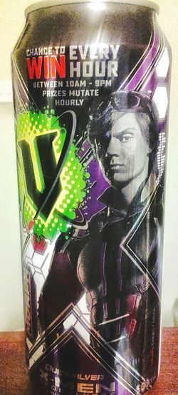 Energydrinkcan Human Representation V EnergyBooster Energy Drink Cans EnergyDrinkCans Aluminum Can V Energy Drink Aluminium Cans Aluminiumcan Energy Drinks Energy Drink Aluminium Can Aluminiumcans Drinkcans Drink Can Energyboost Energydrinks Drink Cans Energydrink X-men Apocalypse Morph X-men Xmenapocalypse Xmen Xmencollection Guarana Energy Drinks Male Likeness