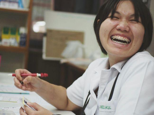 TwentySomething Freedom Veterinary Doctor  Getting Medicine Get Well Soon! Feeling Sick Visiting Smile Protrait