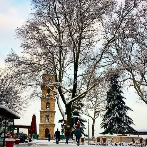 Tophane Amazing Kar Snow Winter Landscape Saatkulesi Cold Aşk Enjoying Life