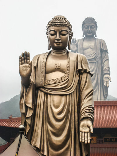 The Grand Buddha at Ling Shan, It is one of the largest Buddha statues in China Bronze Buddha Statue China Day High Largest No People Outdoors Religion Sculpture Spirituality Statue Wuxi