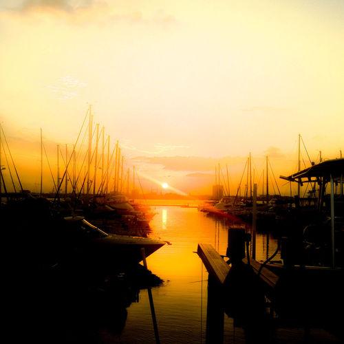 10 Water Sunset