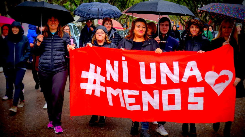 MiercolesNegro Outdoors Feminist Protest