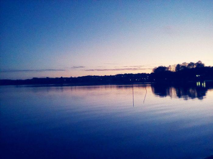 Nature Evening Sky Evening Mobilephotography Water Lake View Sweden Evening Light Eveningwalk😊