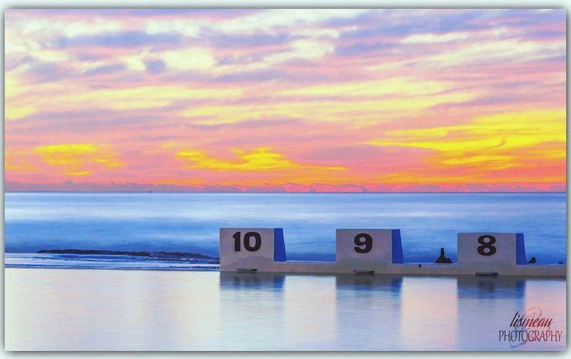 Merewether Relaxing Sunrise Sunrise_sunsets_aroundworld Australia Newcastle Nsw First Eyeem Photo