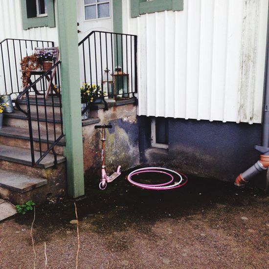 Girl Toys Childhood Children Child Hoola Hoop Kickbike House Home Dream