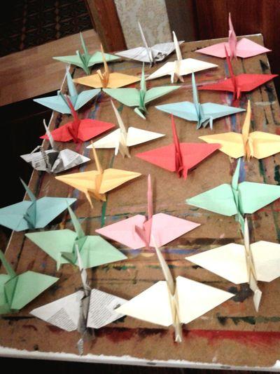 Origami Paperbirds Birds ArtWork Enjoying Life Relaxing Handmade Japan First Eyeem Photo