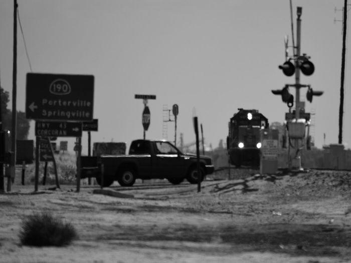 Waiting for a train in Tipton, California. Train Nikon D3200 Nikkor55_300 Blackandwhite First Eyeem Photo