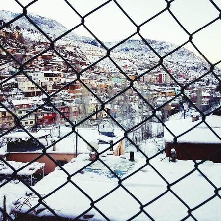 Hadjin Saimbeyli Adana Turkey Hapishanesanki Burası Sektör Yapım Nature Winter Kış
