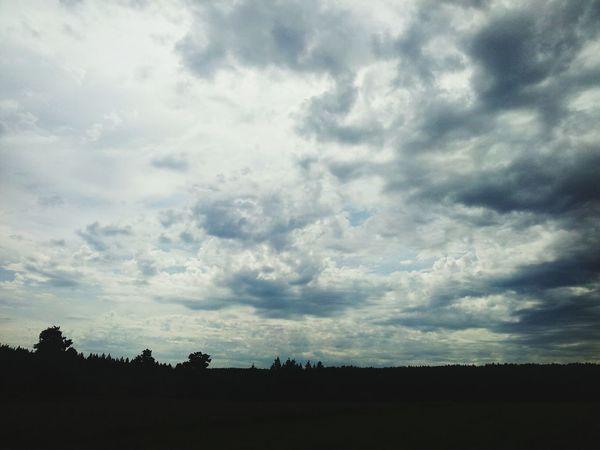 Wie im Himmel... ♥ EyeEm Nature Lover Walking Sky Porn