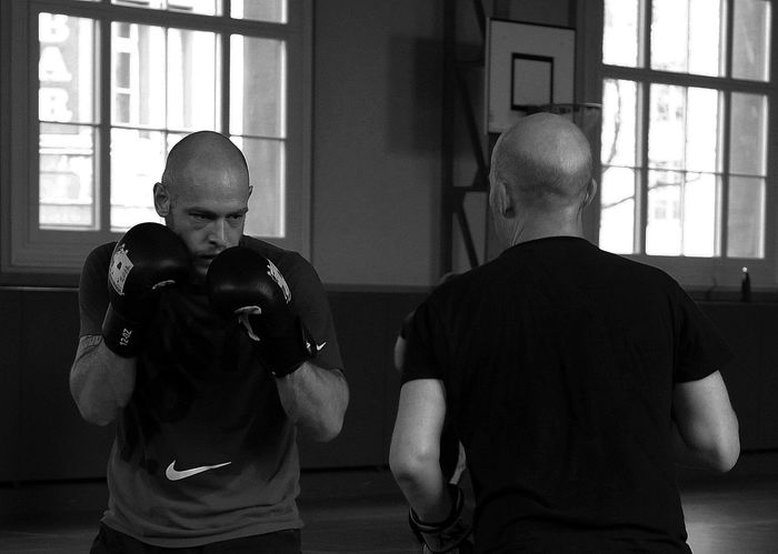 on my series Boxing - Sport
