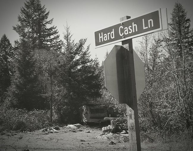 Hwy 42, Oregon. March 2016 Street Signs, Hard Times, Tough Life Bout That Life Country Road, Country Life