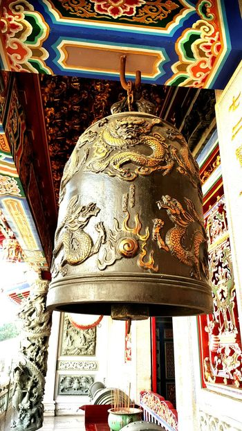 Morning Bell 藍田書院 古蹟 Temple Architecture Nantou,Taiwan Bell EyeEm Best Shots Good Place To Visit Travel Taiwan Historical Site Famous Landmark In Nantou