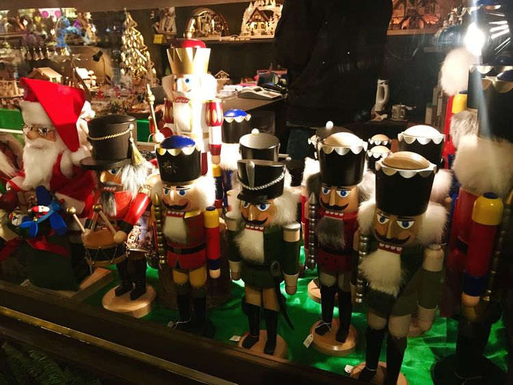 Nutcrackers on Christmas market in Esslingen, Germany Indoors  Large Group Of Objects No People Night Close-up Nutcracker Nutcrackers Nutcracker Soldier Christmas Decoration Xmas🎄 Xmas Christmas
