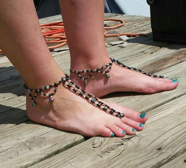 Handmade Jewellery Barefoot Sandals American Made Made By Me Made In Arkansas