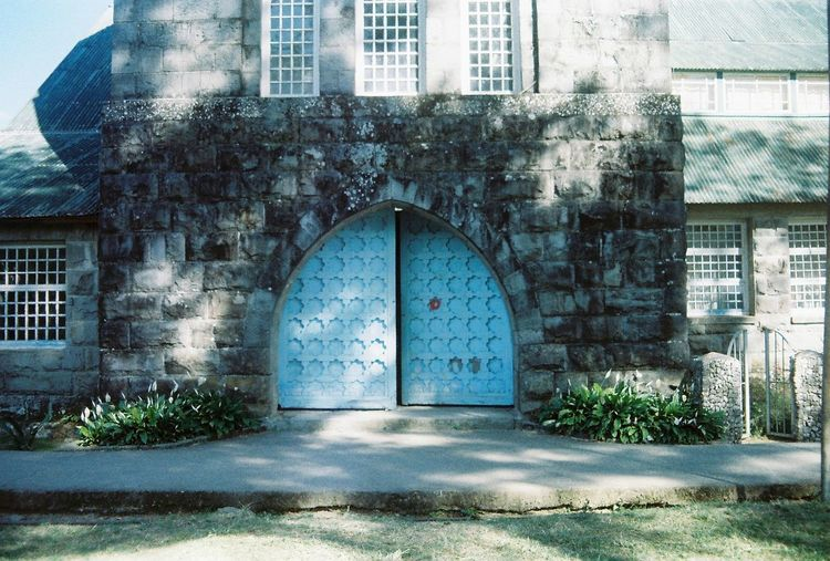 Artsy door of St. Mary's Episcopal church in Sagada, Philippines. Nofilter Wanderlust Travelphotography Traveling Viajero Lonetraveller Voyager Travel Photography Film Photography Filmphotography Film Nikonfm  Kodak Colorplus200 Young Hipster Beautiful Itsmorefuninthephilippines