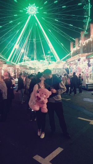 Night Lights Cutecouple SweetNight MyLove❤