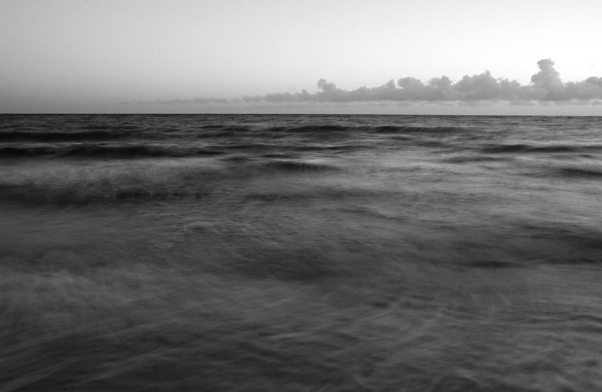 ..breathe easy | something always brings me back to you.. ..it never takes too long... Atmospheric Mood Black And White Blackandwhite Bw_collection Getting Away From It All Horizon Over Water Monochrome Outdoors Seascape Seaside Sunrise Wave Visual Rhythms Photography In Motion Monochrome Photography