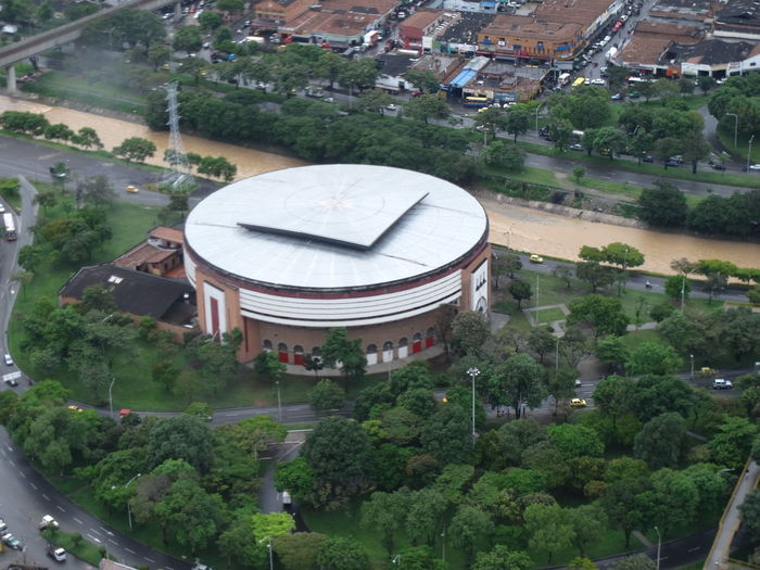 Plaza De Toros, Medelli Aereal Photo Aereal View Architecture Building Exterior Built Structure City Day High Angle View History Nature No People Outdoors Tree