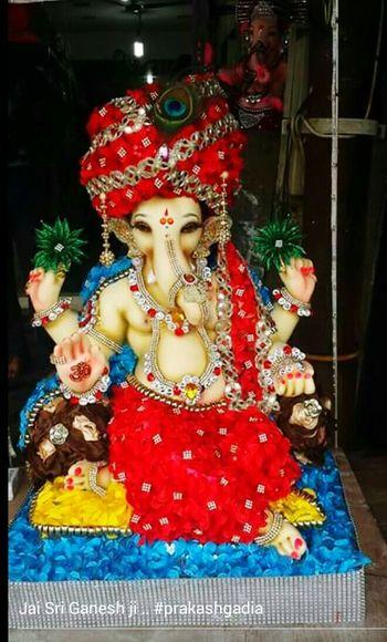 Ganpati Enjoying Life bappa morya
