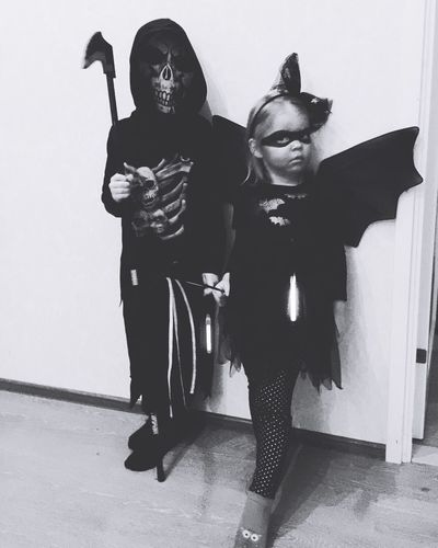 Be careful out there First Eyeem Photo Kids Kidsphotography Halloween Batgirl