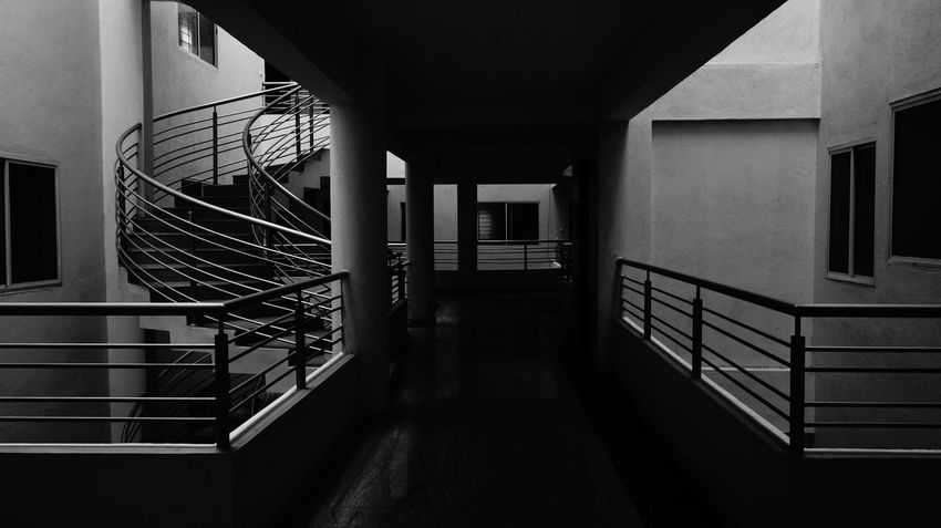 The other two sides B&w Blackandwhite Blackandwhite Photography EyeEm Best Shots - Architecture EyeEm Best Shots - Black + White Architecture Architecture_bw Architecture_collection Building Exterior Hallways Light And Dark Urban Geometry Building Structures Building Styles  BuildingPorn Black And White Collection  Hallwayporn Hallway Pics Architectural Detail Sony