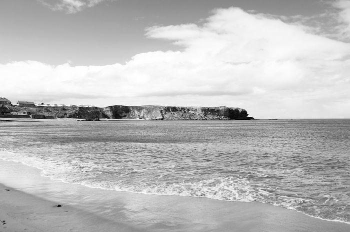 Day Eyemouth Fishing Village Outdoors Scotland Sea Seaside Uk United Kindom