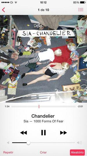 Chandelier 🎶😻 Music LoveSongs♥ Sia Tardeboa International Vivamusic